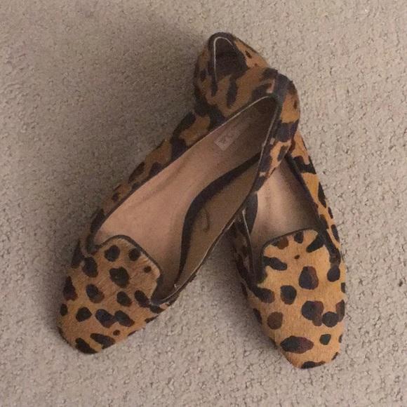 77d67c0e8eee Massimo Dutti Shoes | Leopard Print Loafers | Poshmark